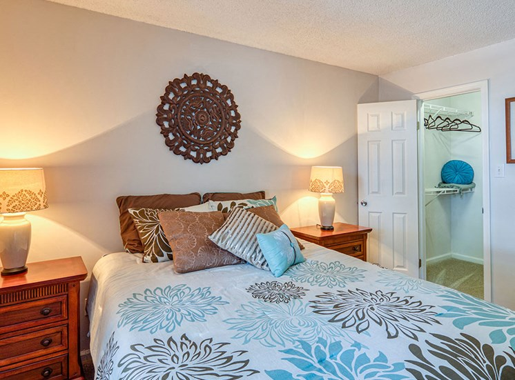 Bedroom 2 at Latitudes Apartments in Virginia Beach