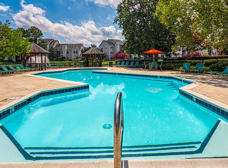 Pool at Latitudes Apartments in Virginia Beach VA 23454