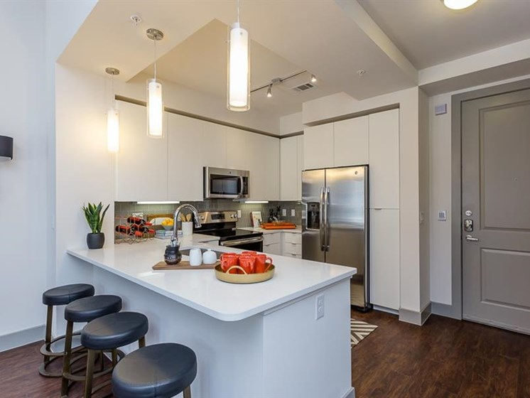 Spring luxury apartment with Gourmet
