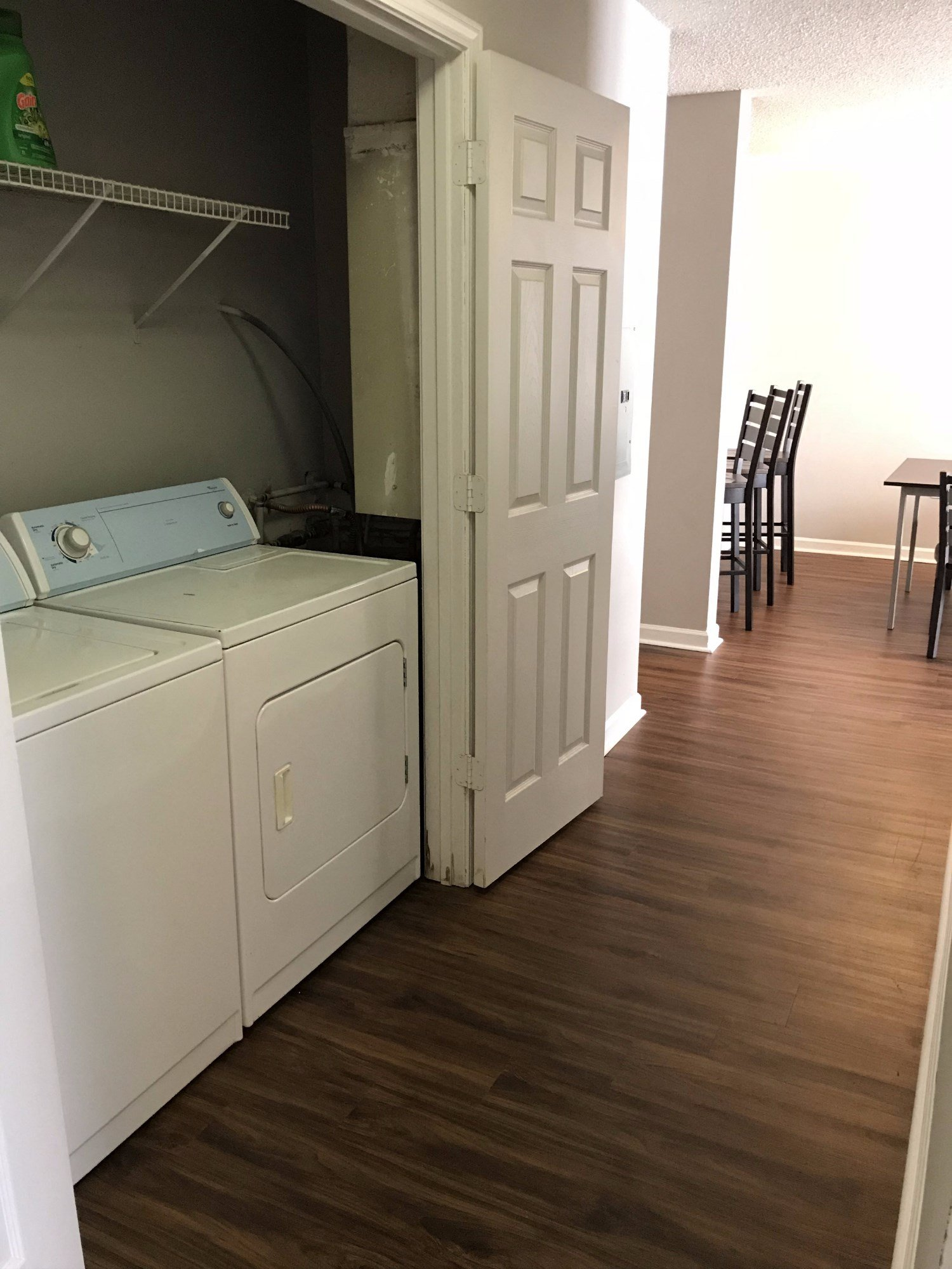 Washers and Dryers in each Home