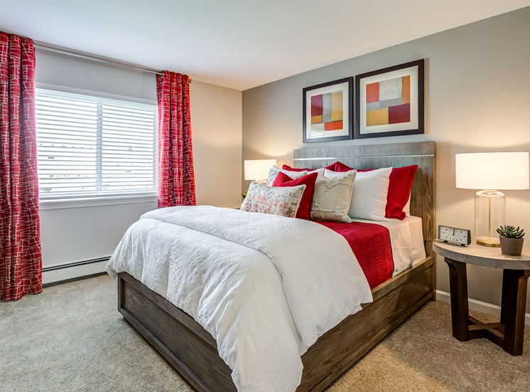 Cozy Bedroom at Orion ParkView, Mount Prospect, IL, 60056