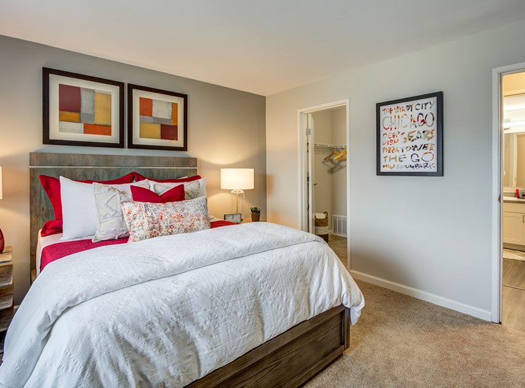 Bedroom at Orion ParkView, Mount Prospect, IL, 60056