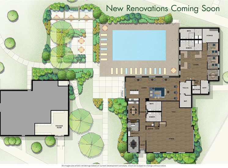 Site Map at Orion ParkView, Mount Prospect, IL, 60056