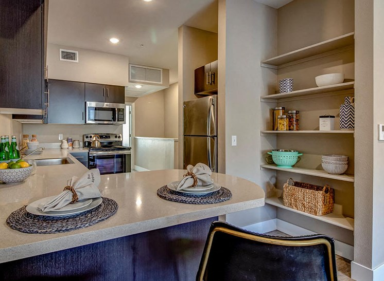 Riverside Park Apartments | Counters