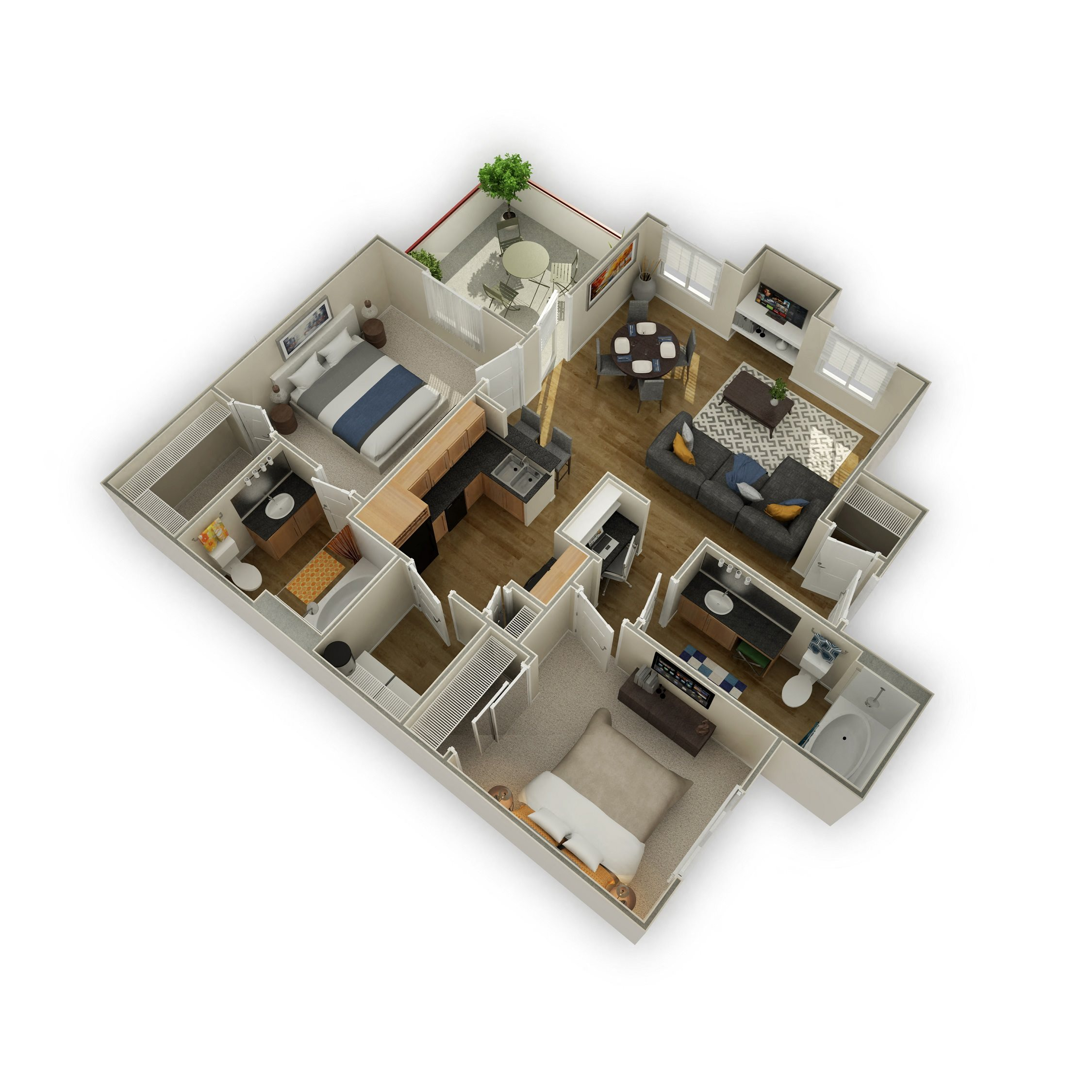 The Jerome Floor Plan 4