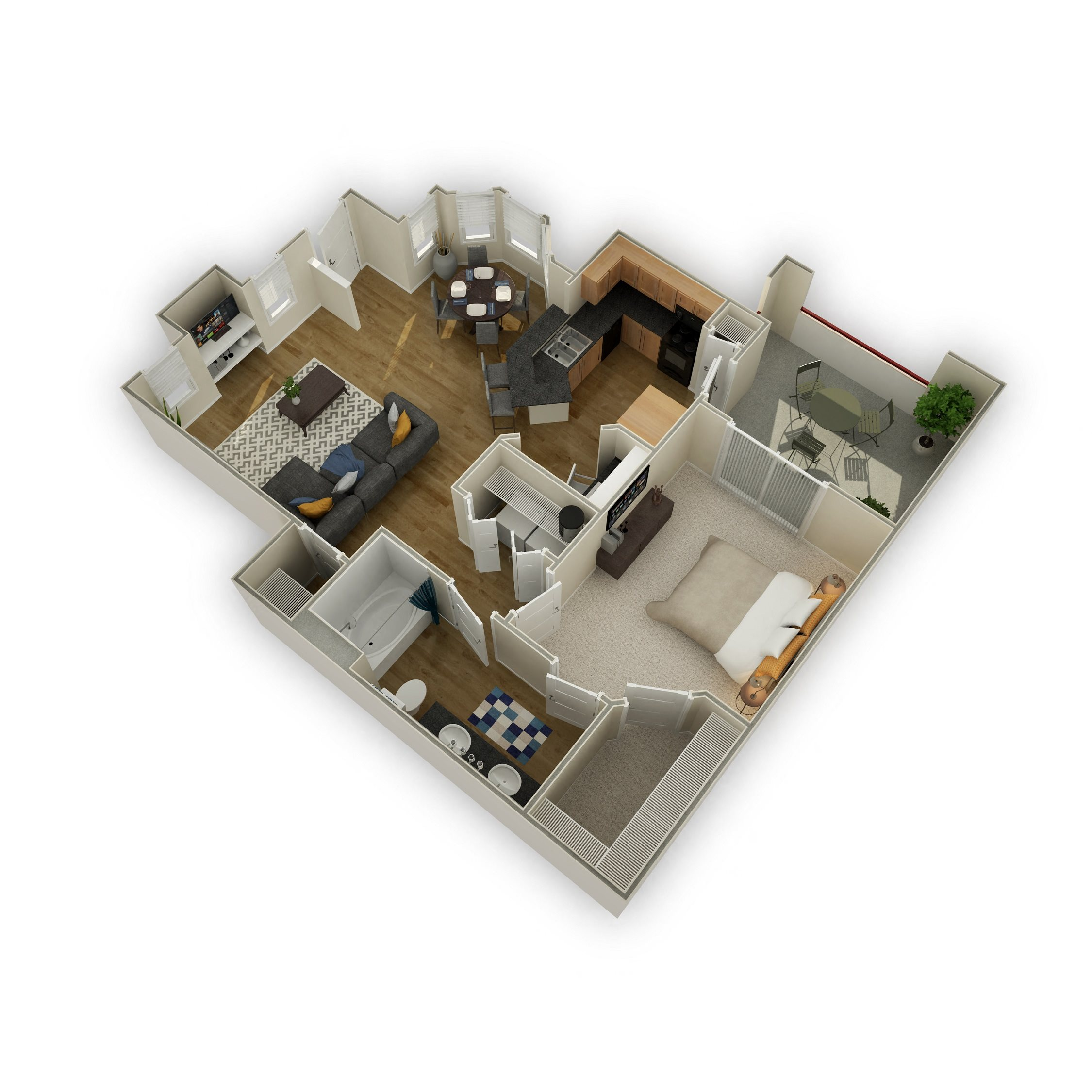 The Sedona Floor Plan 3