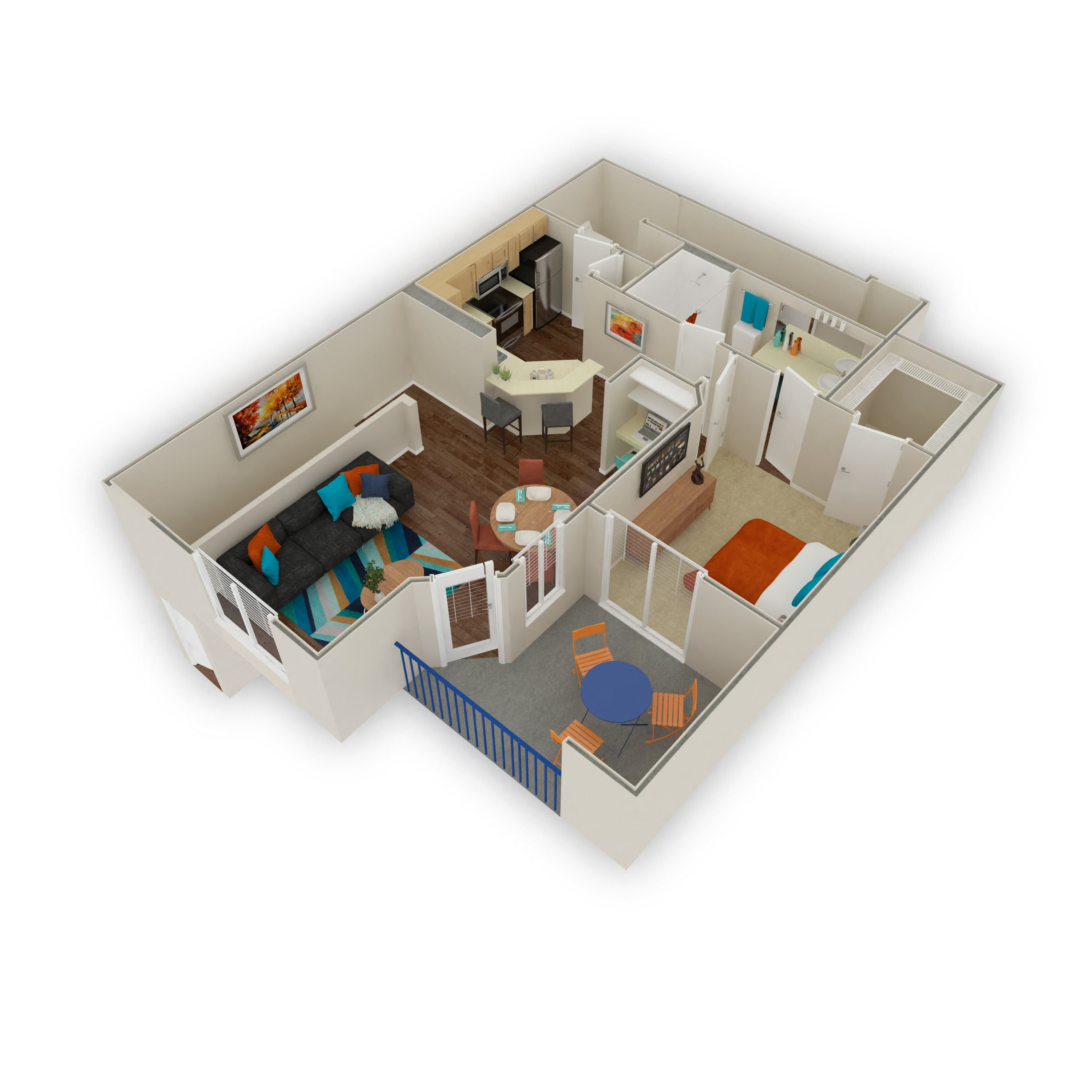 The Carefree Floor Plan 2