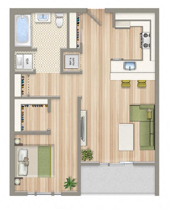 Studio, 1 & 2 Bedroom Apartments In Washington DC