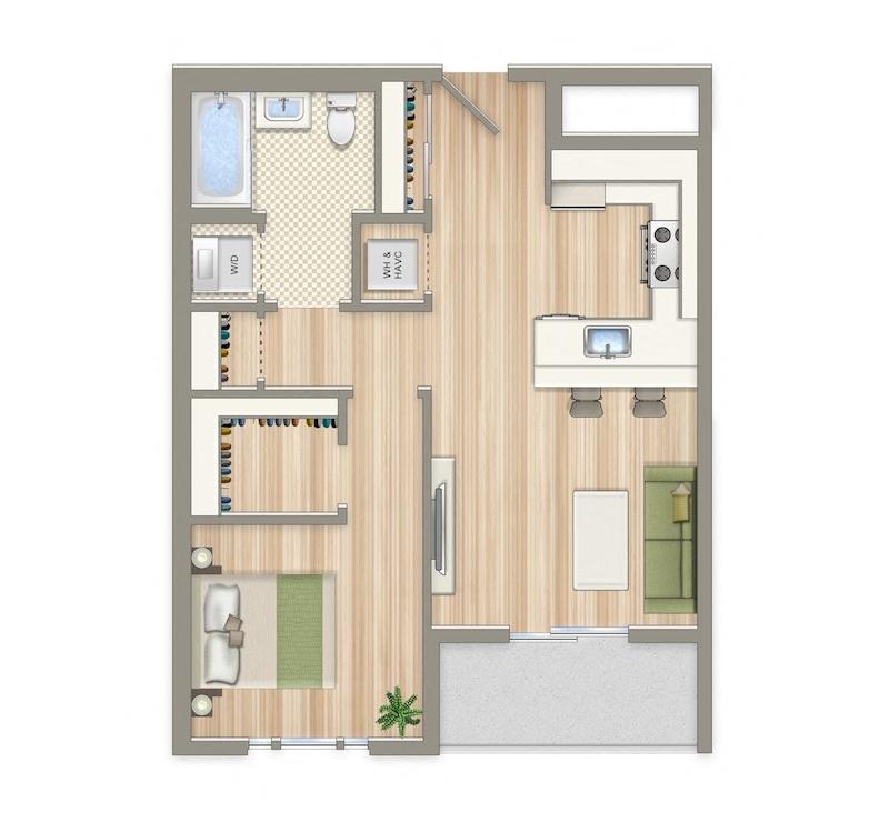 Aria 2 Bedroom Suite: Studio, 1 & 2 Bedroom Apartments In Washington DC