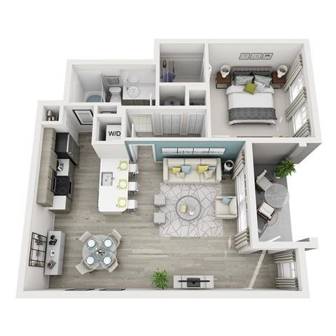 Allegre Floor Plan 1
