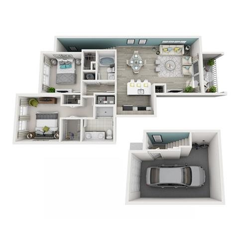 Excite (Garage) Floor Plan 10