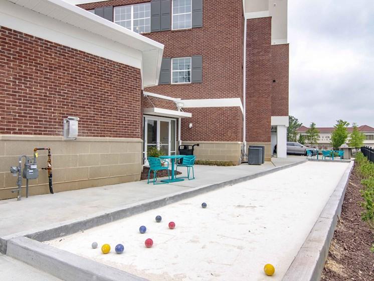 outdoor bocce ball