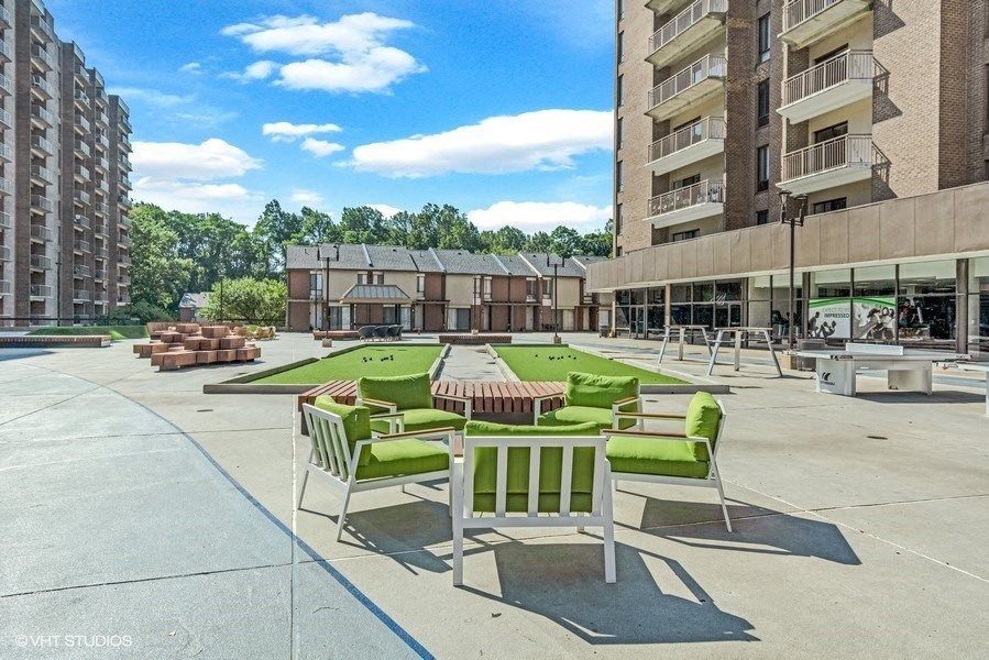 Play, Socialize, Relax, and Unwind in The Plaza at Trillium Apartments in Fairfax, VA