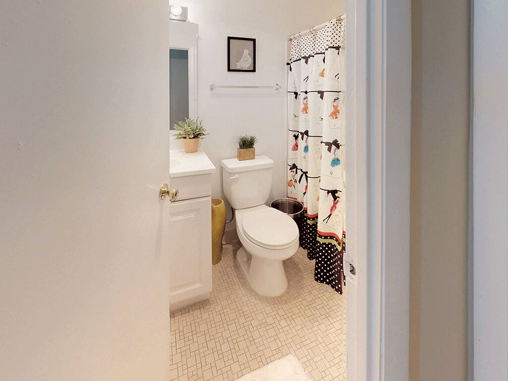 CLASSIC bright bathroom space