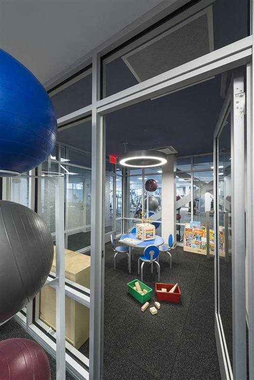 Kids Playroom in Fitness Center  at Trillium Apartments in Fairfax, VA