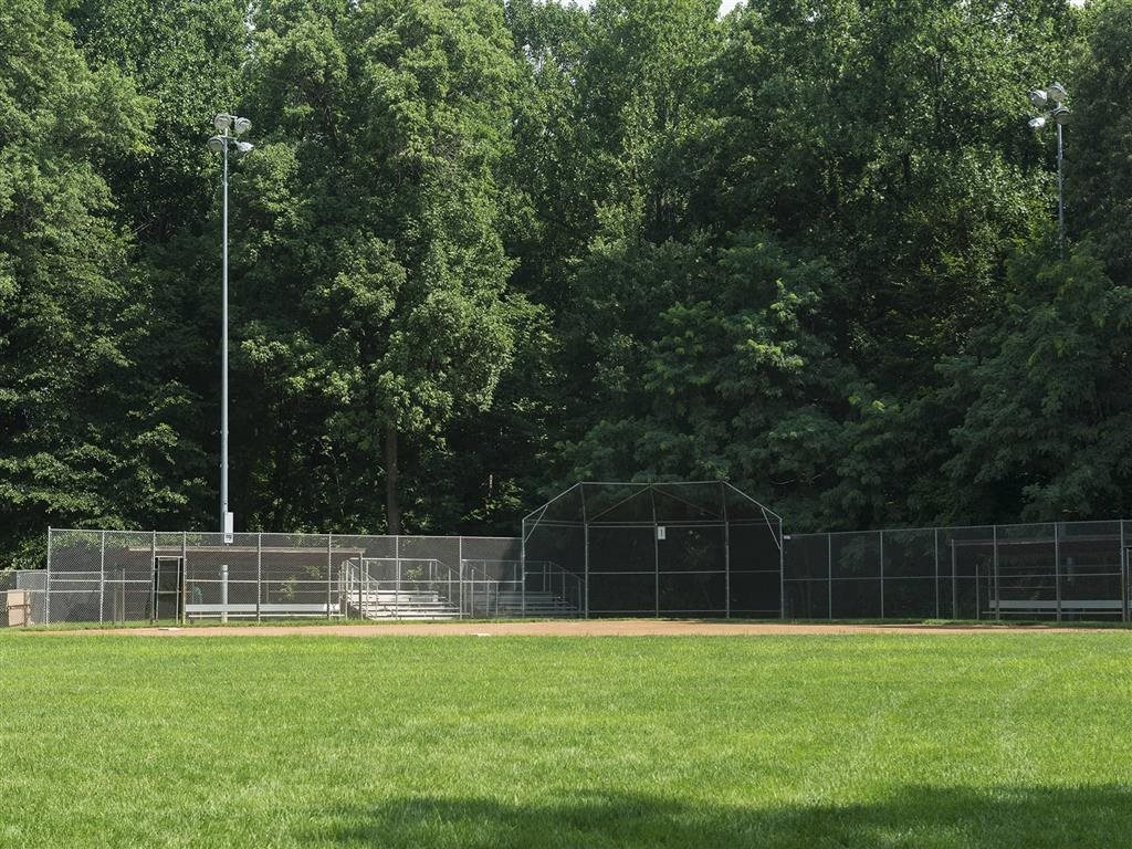 Baseball field at Trillium