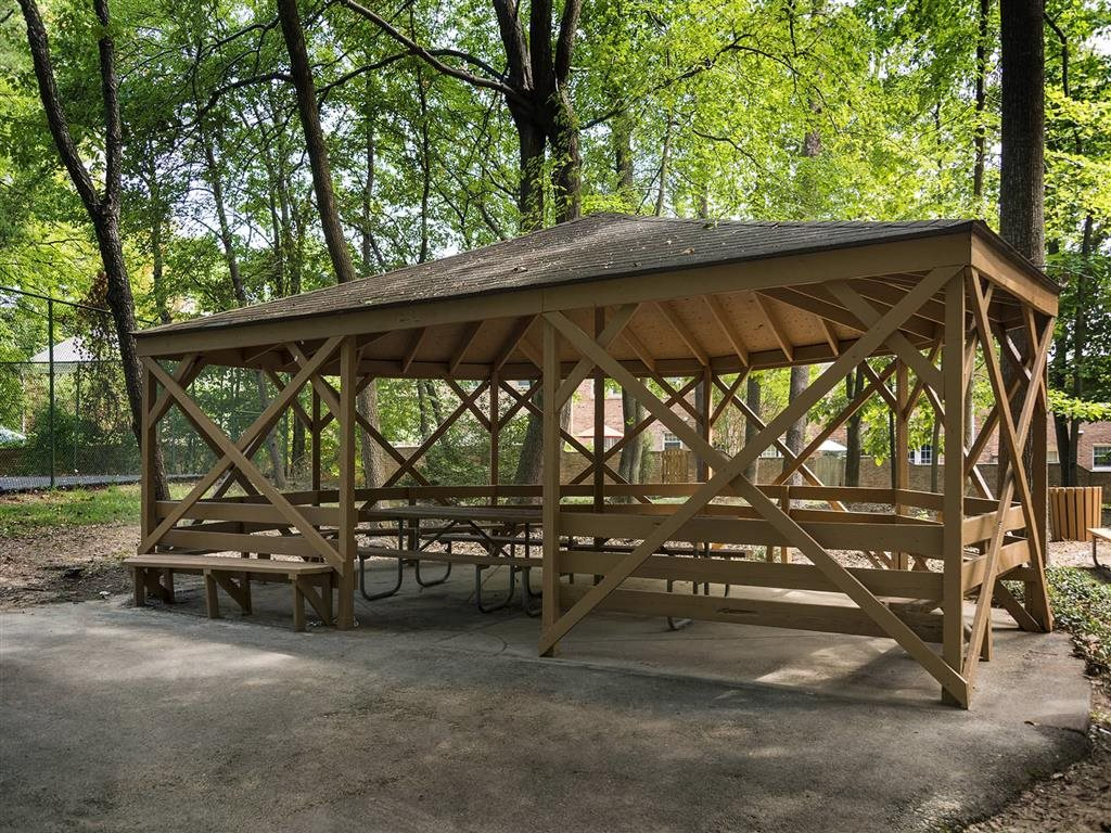 Gazebo for our residents at Trillium