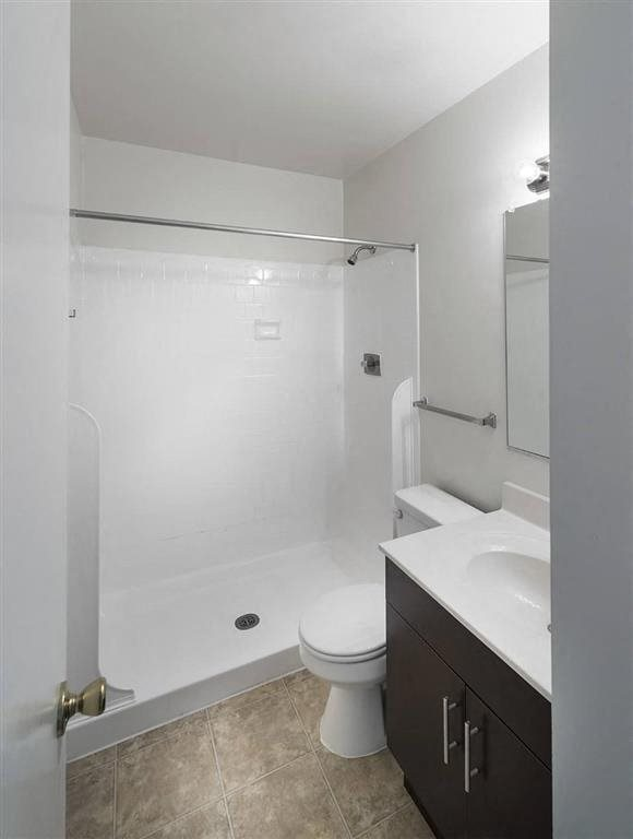 Bathroom with a step in shower at Circle Towers in Fairfax, VA