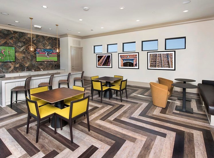 Clubhouse with Upgraded Interiors at Westside Heights, Atlanta, GA