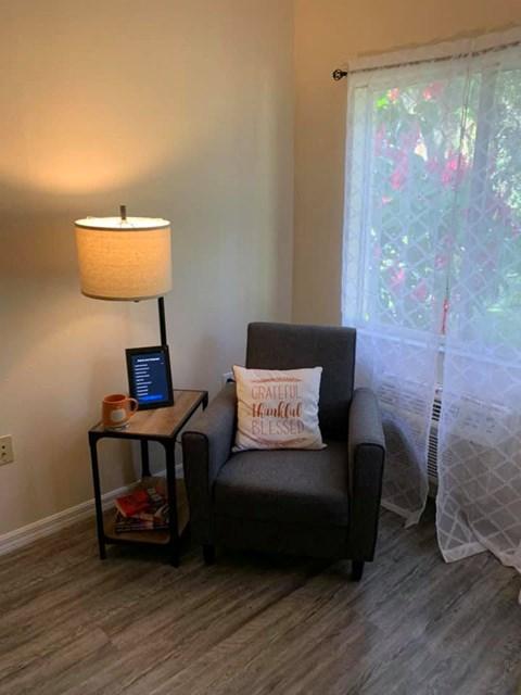 Comfortable Sofa Chair at Savannah Court of Bartow, Bartow, Florida