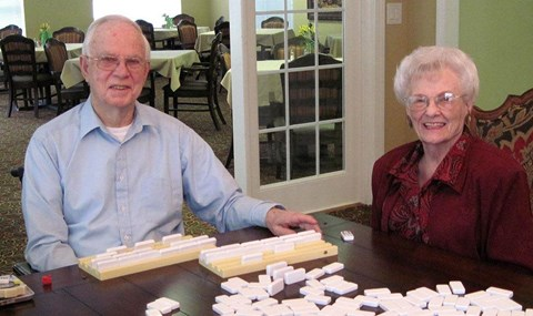 Seniors Playing at Savannah Court of Bartow, Bartow, FL