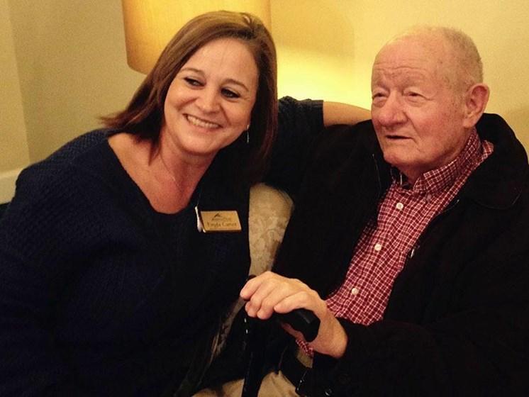 Happy Senior Resident at Savannah Court of Bartow, Bartow, 33830