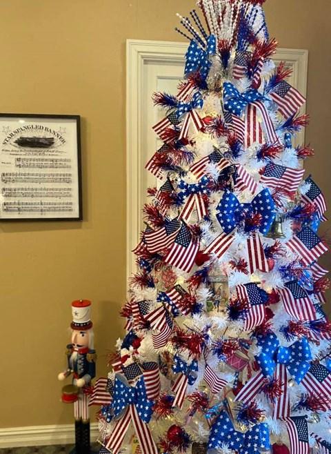 Christmas Tree at Savannah Court of Bastrop, Bastrop, LA