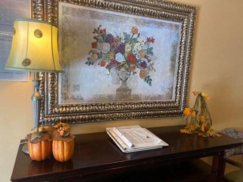 Decorated Wall Frame at Savannah Court of Bastrop, Louisiana, 71220