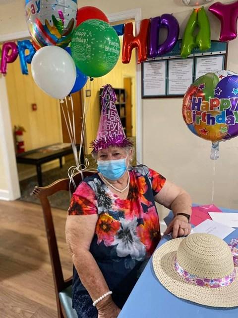 Seniors Celebrating Birthday at Savannah Court of Camilla, Camilla, 31730