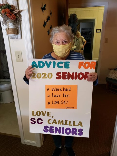 Advice For 2020 Seniors at Savannah Court of Camilla, Georgia, 31730
