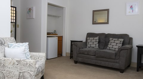 Comfortable Sofa at Savannah Court of Maitland, Maitland, 32751