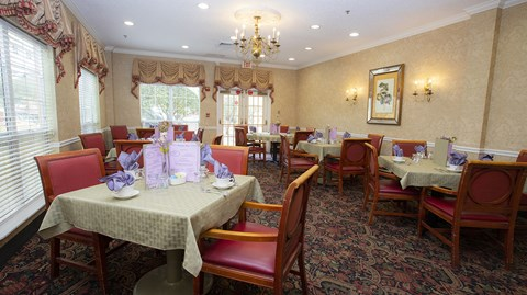 Restaurant Style Dining Room at Savannah Court of Maitland, Florida, 32751