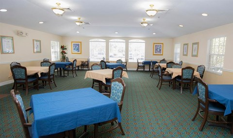 Dining Hall at Savannah Court of Orange City, Orange City, FL, 32763