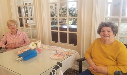 Happy Senior Resident at Savannah Grand of West Monroe, West Monroe