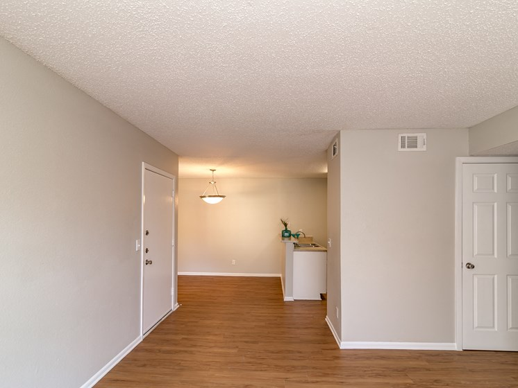Hardwood Floors at City-Base Vista, San Antonio, Texas