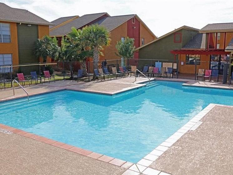 Resort-Style Pool at City-Base Vista, Texas, 78223