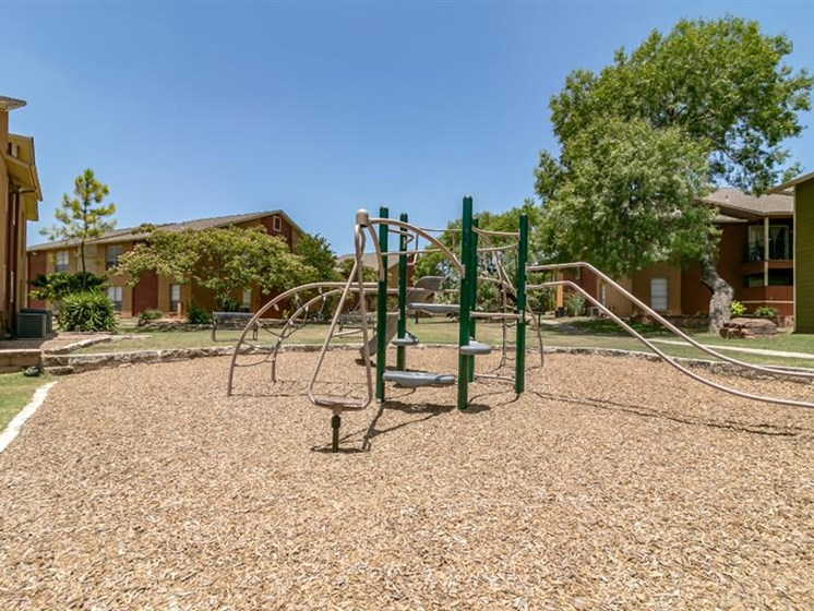 Children's Play Area at City-Base Vista, San Antonio, Texas