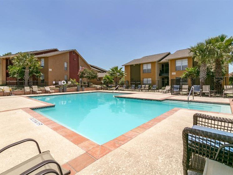 Resort Inspired Pool at City-Base Vista, San Antonio, Texas