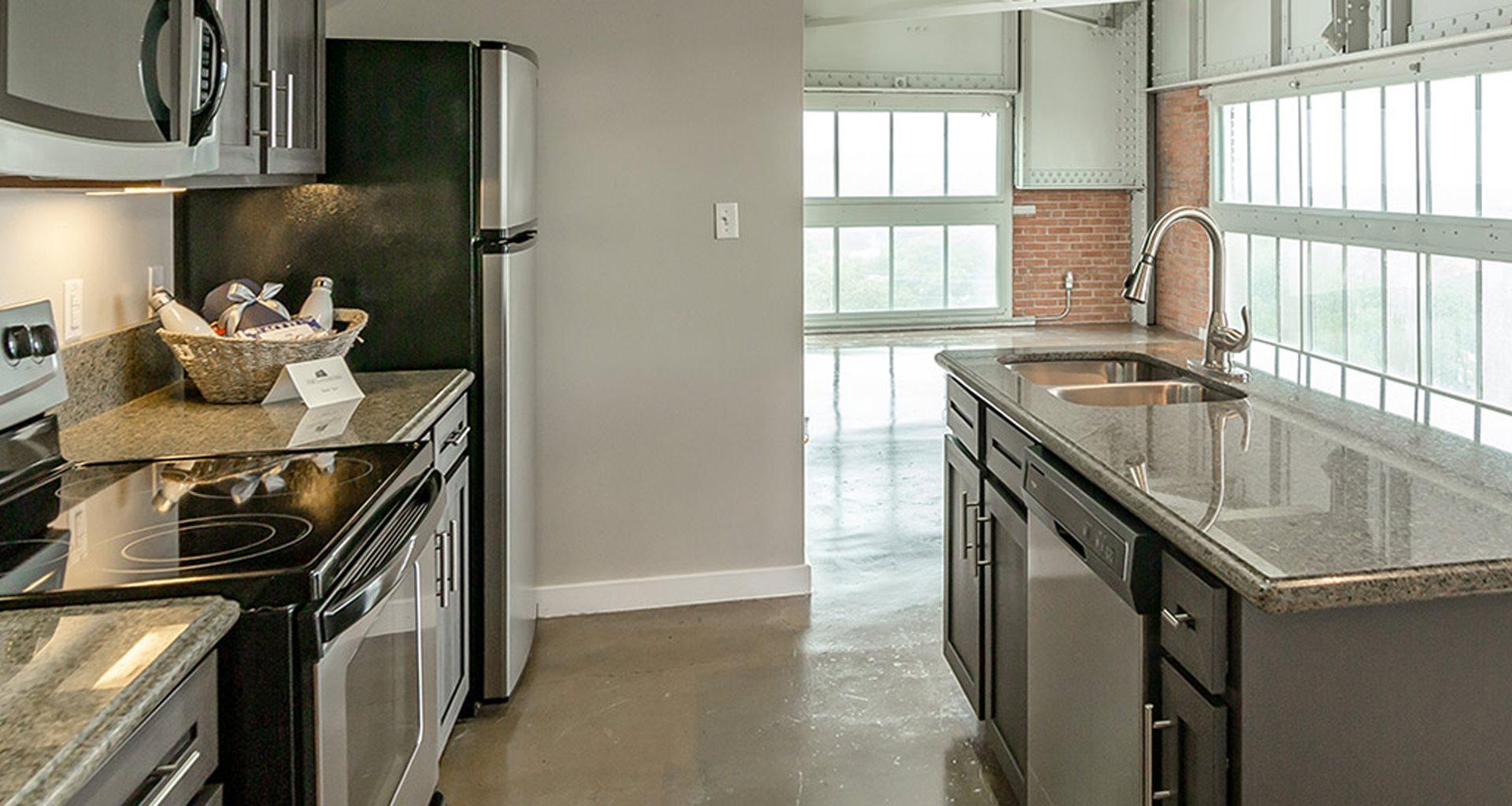 Contemporary Open Kitchen Design at The Landmark, New Braunfels, TX, 78130