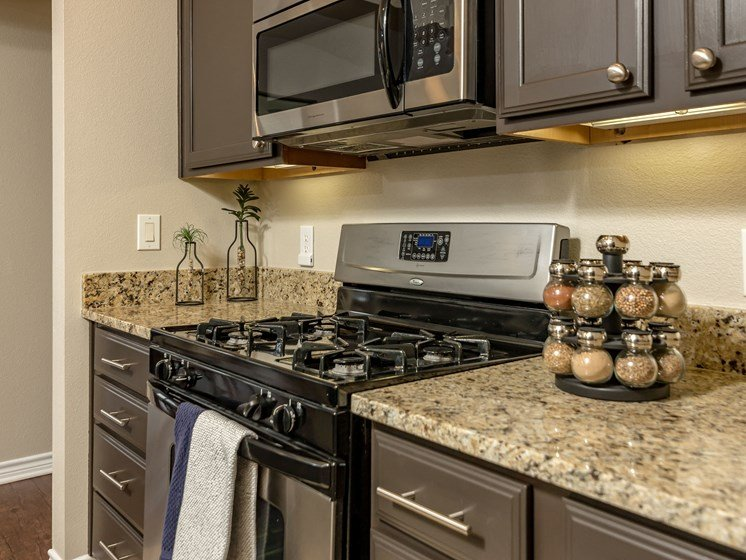 New Countertops and Cabinets at The Landmark, New Braunfels