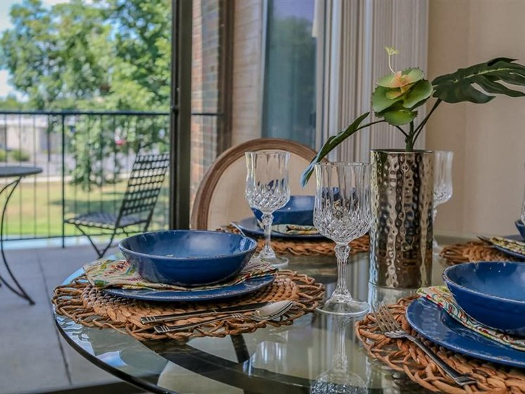 Defined Dining Space at The Landmark, New Braunfels, TX, 78130