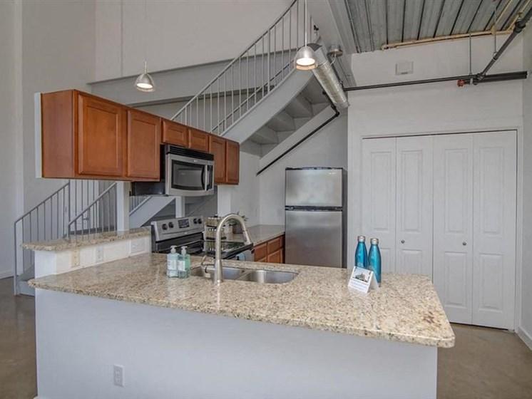 All Electric Kitchen at The Landmark, New Braunfels, TX, 78130