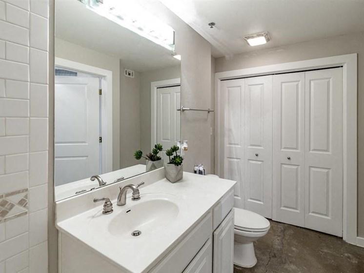 Spacious Bathrooms at The Landmark, New Braunfels, TX