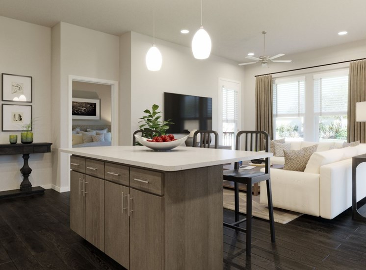 Gourmet Kitchen Islands at Rise at 2534, Johnstown, CO