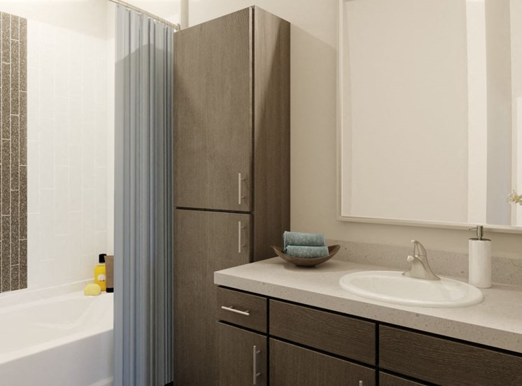 Dual Vanity Bathrooms at Rise at 2534, Johnstown, 80534