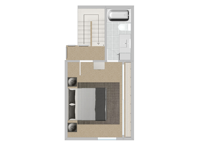 Eucalyptus 2 bedroom 2 bath