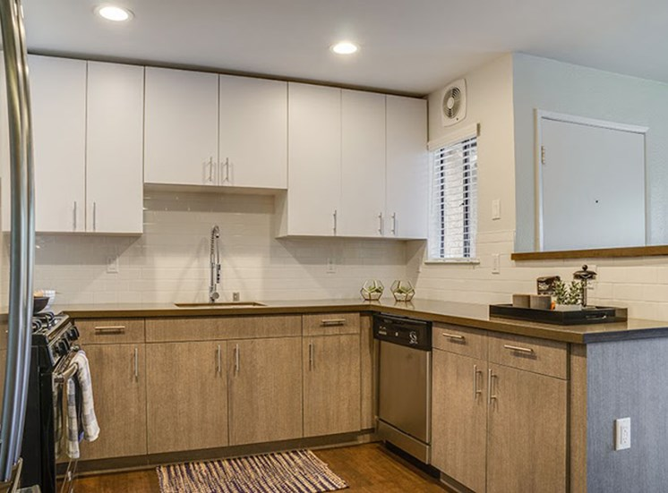 Spacious Kitchen with Pantry Cabinet at Solterra at Civic Center, Norwalk, CA, 90650