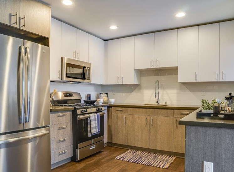 Fully Equipped Kitchen at Solterra at Civic Center, California