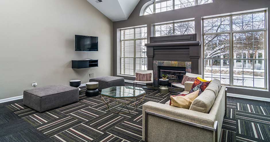 Modern Furnishings at Axis at Westmont, Westmont, Illinois