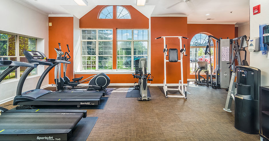 Cardio Equipment at Axis at Westmont, Westmont